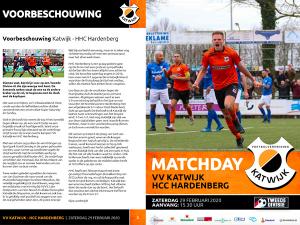 Programmaboekje VV Katwijk - HHC