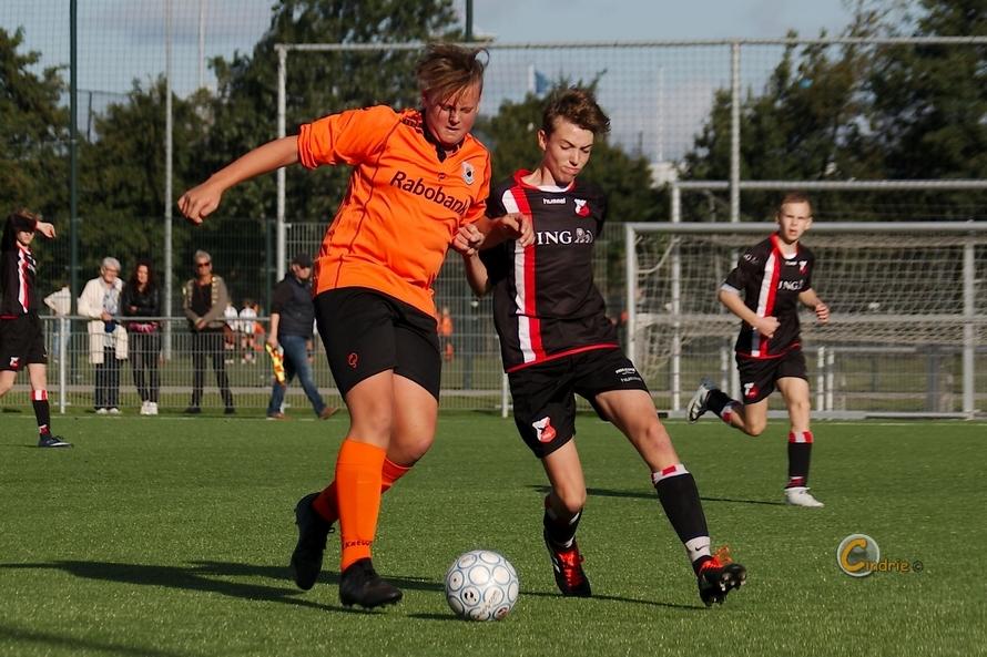 15-09-2018, Katwijk JO15-2 -HBS JO15-3